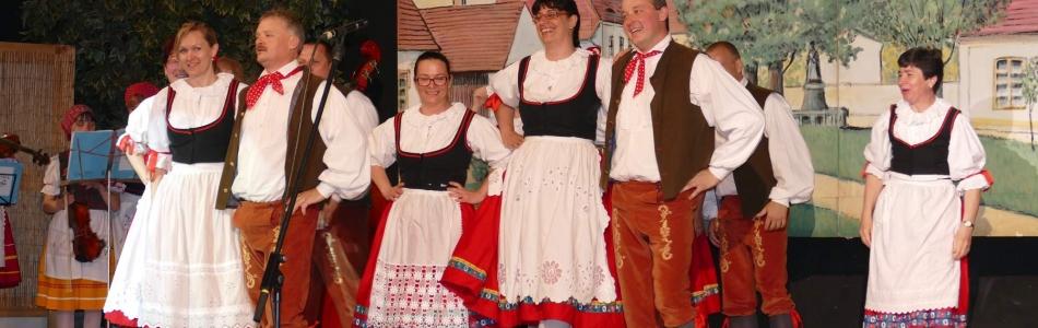 Folklorní soubor Bystřina ze Zlivi