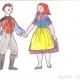 Folklorní soubor Bystřina ze Zlivi - Kroje očima našich dětiček