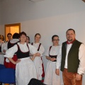 Folklorní soubor Bystřina ze Zlivi - 28. 2. 2015 - Svíčkový ples Zliv