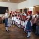 Folklorní soubor Bystřina ze Zlivi - 31. 10. 2016 - Zpívání pro důchodce, domov důchodců Hluboká