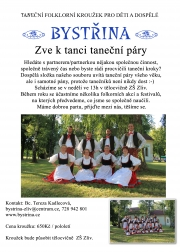 Folklorní soubor Bystřina ze Zlivi - Zveme k tanci taneční páry