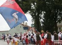 Folklorní soubor Bystřina ze Zlivi - Slavnosti v Pištíně 13. 8. 2016