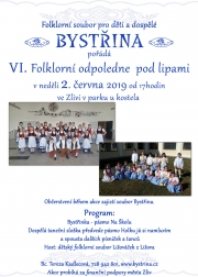 Folklorní soubor Bystřina ze Zlivi - Folklorní odpoledne pod lipami